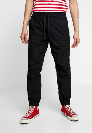COLEMAN PANTS - Broek - black/wax