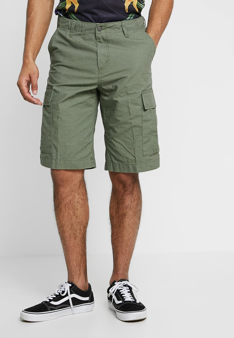 Carhartt WIP - COLUMBIA - Shorts - dollar green rinsed