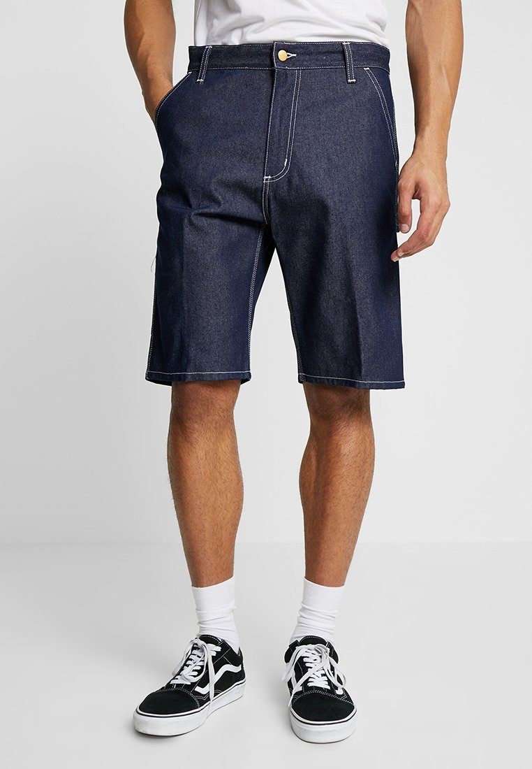 Carhartt WIP - RUCK SINGLE KNEE NORCO - Denim shorts - blue rigid