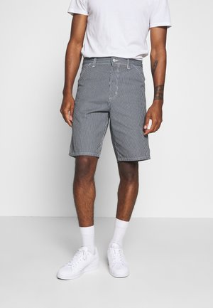 SINGLE KNEE HERMOSA - Short en jean - blue/white