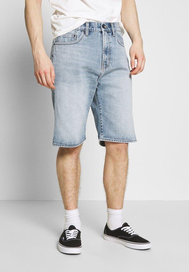PONTIAC SHORT MAITLAND - Jeans Shorts - blue worn bleached