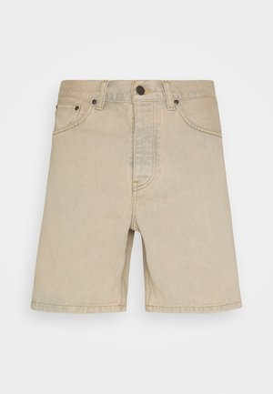 NEWEL MAITLAND - Jeans Shorts - blue/sand bleached