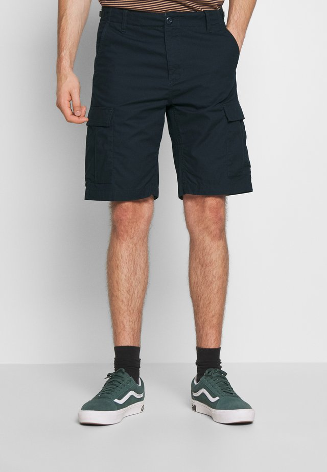 AVIATION COLUMBIA - Shorts - dark navy