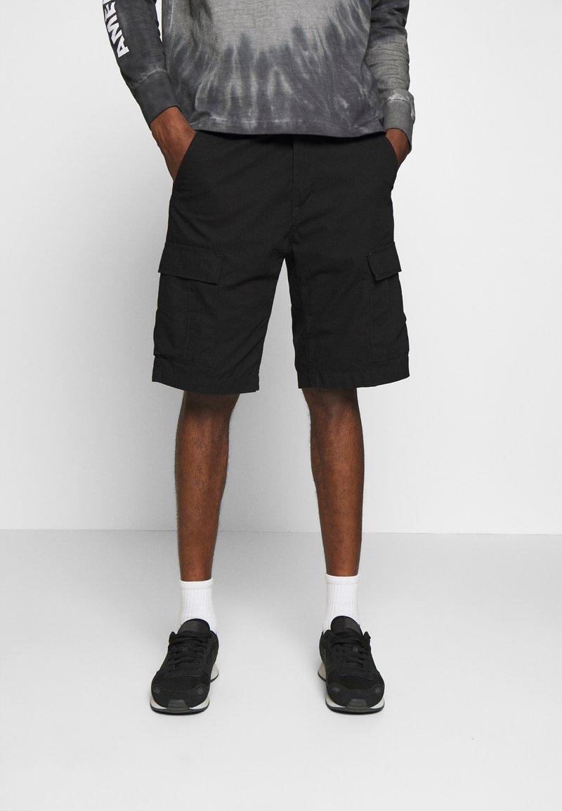 Carhartt WIP - AVIATION COLUMBIA - Shorts - black rinsed
