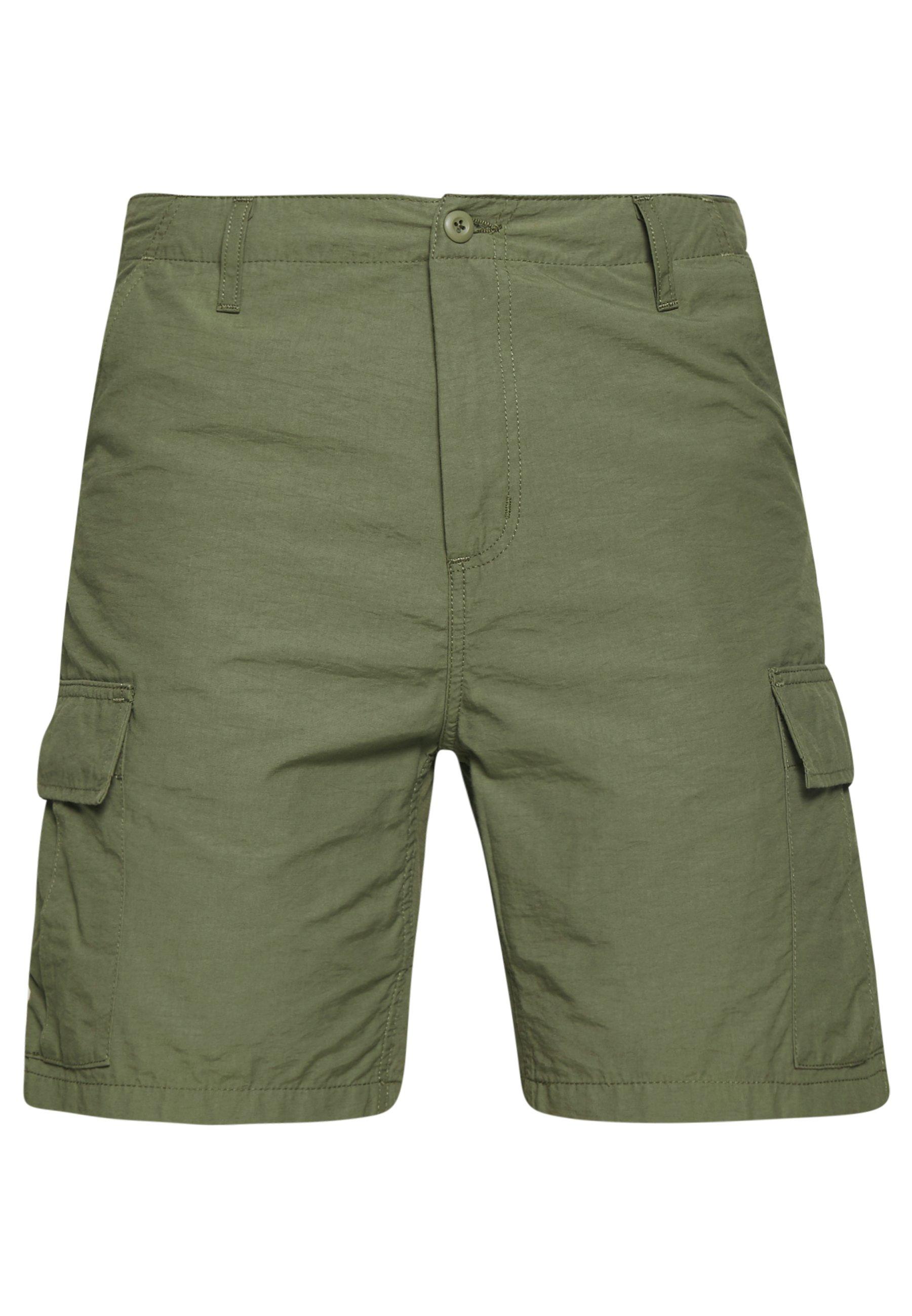 Carhartt Wip Field Cargo Pasadena - Shorts Dollar Green Rinsed