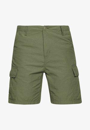 FIELD CARGO PASADENA - Shorts - dollar green rinsed