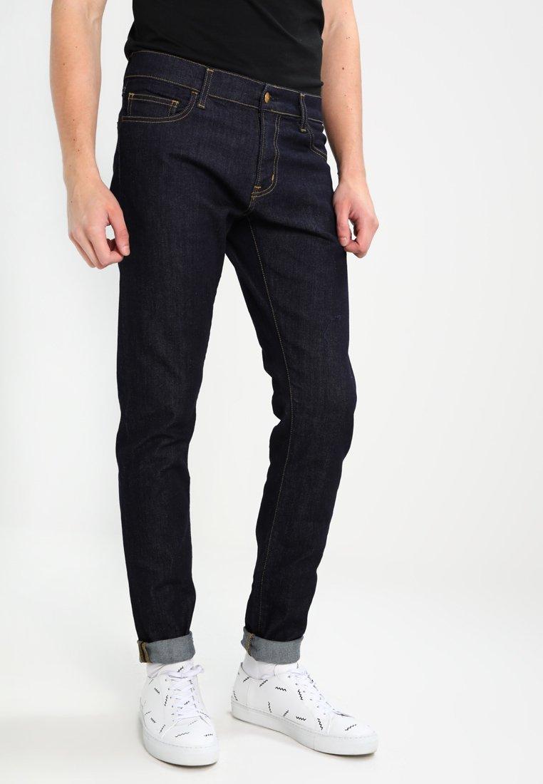 Carhartt WIP - REBEL PANT SPICER - Jean slim - blue one wash