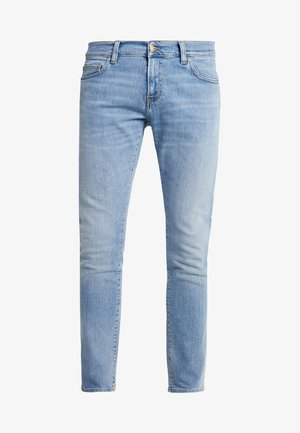 REBEL PANT SPICER - Vaqueros slim fit - blue worn bleached