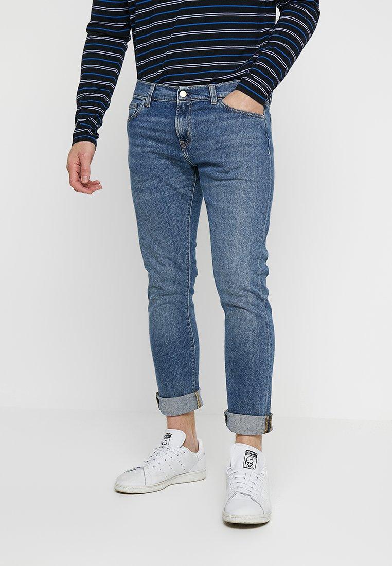 Carhartt WIP - REBEL PANT SPICER - Jeans Slim Fit - blue mid