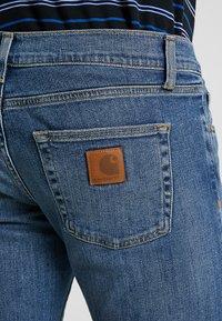 Carhartt WIP - REBEL PANT SPICER - Jeans Slim Fit - blue mid - 5