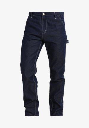 RUCK SINGLE KNEE PANT - Jeans straight leg - blue rigid