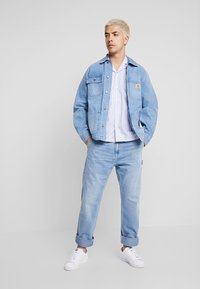 Carhartt WIP - RUCK SINGLE KNEE PANT - Džíny Straight Fit - blue worn bleached