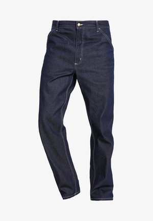 SIMPLE PANT NORCO - Džíny Relaxed Fit - blue rigid