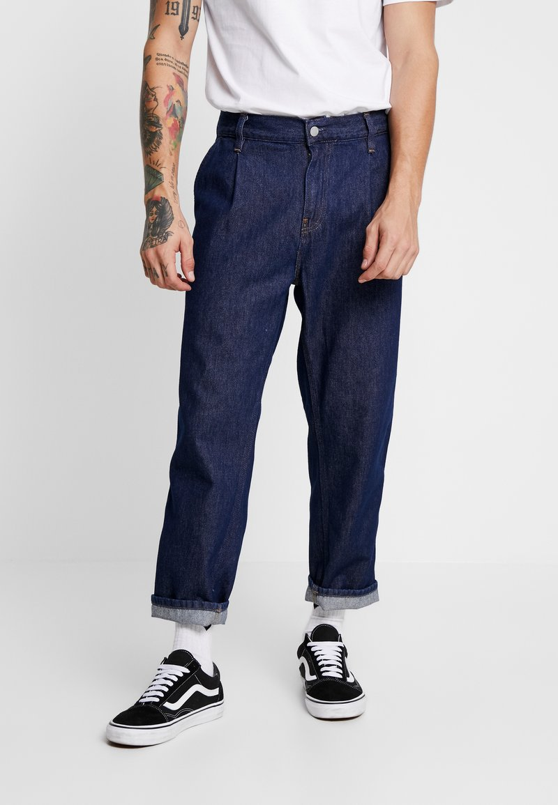 Carhartt WIP - ABBOTT MAVERICK - Jeans Relaxed Fit - blue rinsed