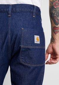 Carhartt WIP - ABBOTT MAVERICK - Džíny Relaxed Fit - blue rinsed - 5