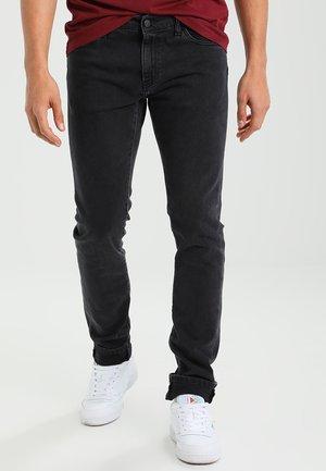 REBEL PANT MARGATE - Jeans Slim Fit - black stone washed