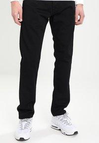 Carhartt WIP - KLONDIKE PANT MAITLAND - Džíny Straight Fit - black rinsed - 0
