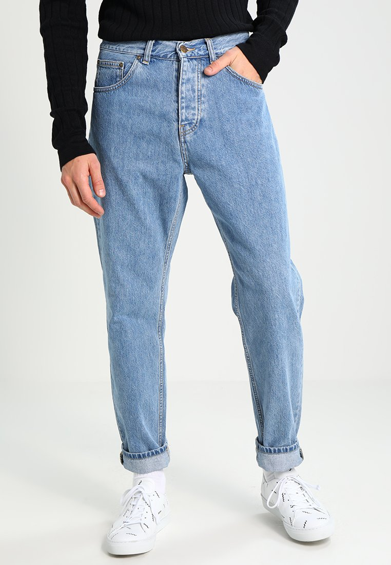 Carhartt WIP - NEWEL PANT MILTON - Relaxed fit jeans - blue stone bleached