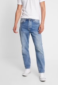 Carhartt WIP - NEWEL PANT MAITLAND - Relaxed fit jeans - blue worn bleached - 0