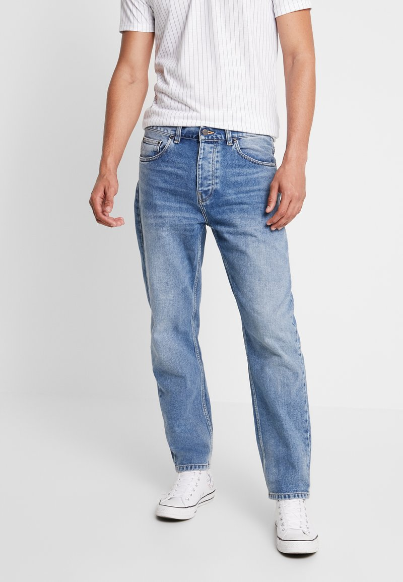 Carhartt WIP - NEWEL PANT MAITLAND - Relaxed fit jeans - blue worn bleached