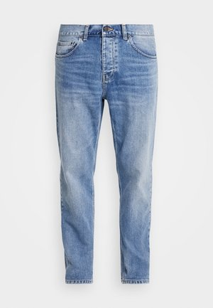 NEWEL PANT MAITLAND - Jeansy Relaxed Fit - blue worn bleached