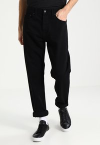 Carhartt WIP - NEWEL PANT MAITLAND - Relaxed fit jeans - black rinsed - 0