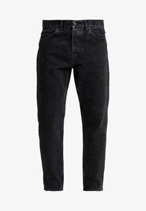 NEWEL PANT MAITLAND - Jeansy Relaxed Fit - black stone washed