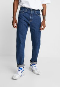 Carhartt WIP - PONTIAC PANT MAITLAND - Džíny Straight Fit - blue stone washed - 0