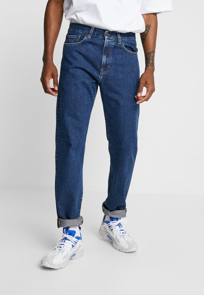 Carhartt WIP - PONTIAC PANT MAITLAND - Džíny Straight Fit - blue stone washed