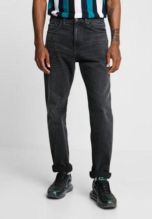 PONTIAC PANT MAITLAND - Jeansy Straight Leg - black mid worn wash