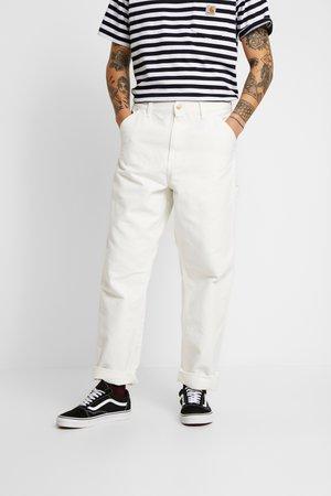 SINGLE KNEE PANT DEARBORN - Jeans Straight Leg - off-white