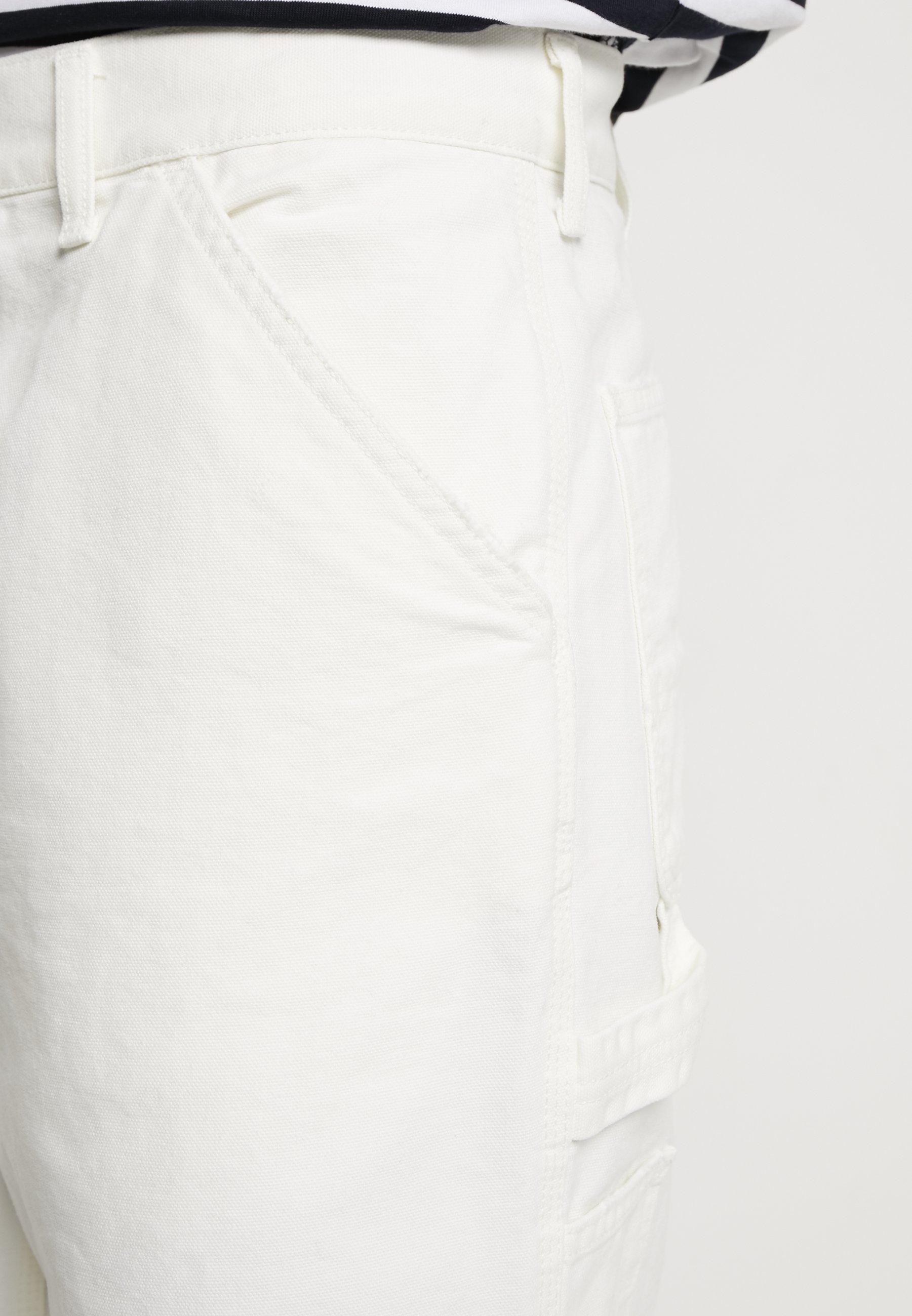 Carhartt Wip Single Knee Pant Dearborn - Straight Leg Jeans Off-white