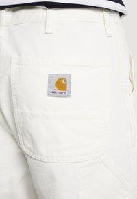 Carhartt WIP - SINGLE KNEE PANT DEARBORN - Jean droit - off-white - 5