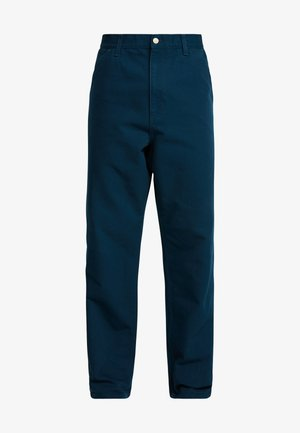 SINGLE KNEE PANT DEARBORN - Džíny Straight Fit - duck blue rinsed