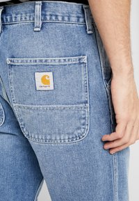 Carhartt WIP - PENROD PANT MAITLAND - Jeans relaxed fit - blue worn bleached - 5