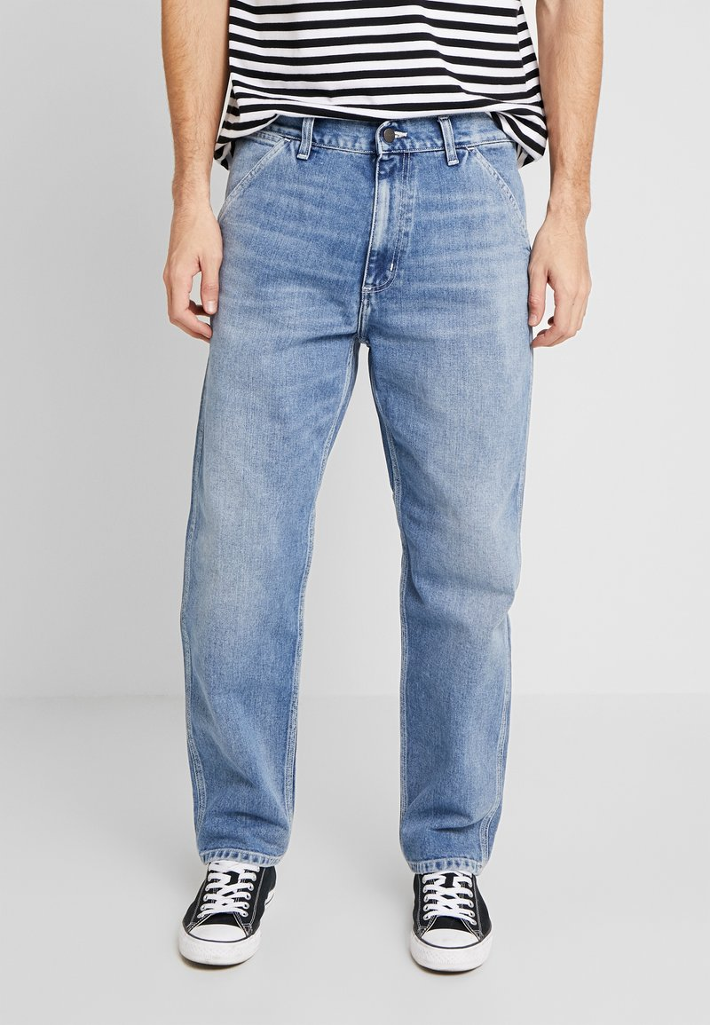 Carhartt WIP - PENROD PANT MAITLAND - Jeans relaxed fit - blue worn bleached