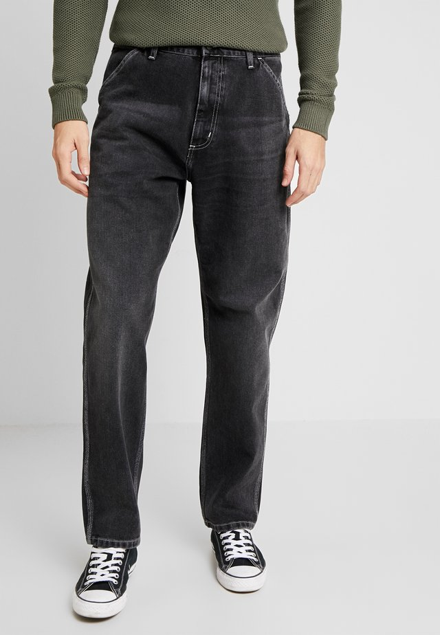 PENROD PANT MAITLAND - Jeans Relaxed Fit - black