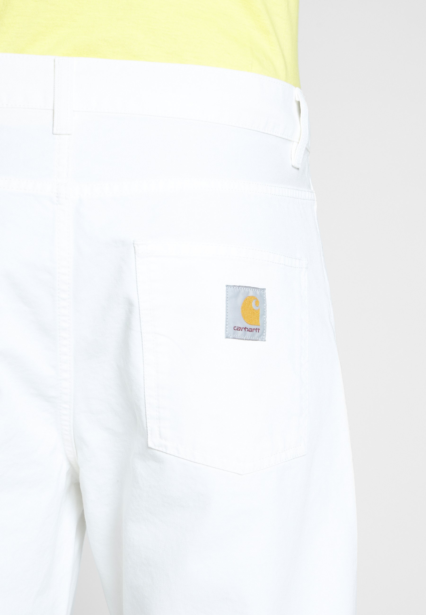Carhartt Wip Newel Pant Newcomb - Relaxed Fit -farkut Off-white