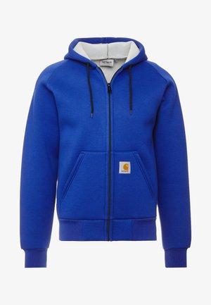 CAR-LUX HOODED - Zip-up hoodie - thunder blue/grey