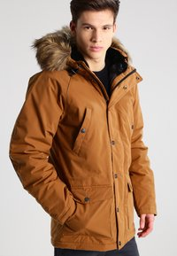 Carhartt WIP - TRAPPER  - Winterjas - hamilton brown/black - 0