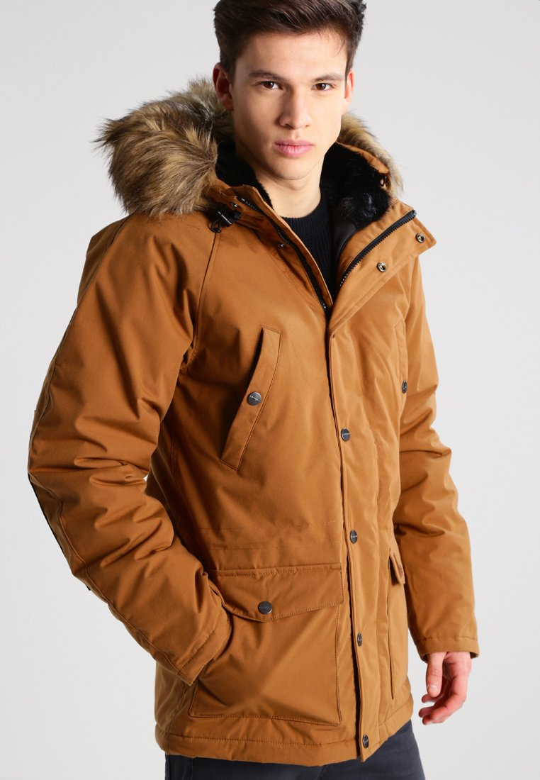 Carhartt WIP - TRAPPER  - Winterjas - hamilton brown/black