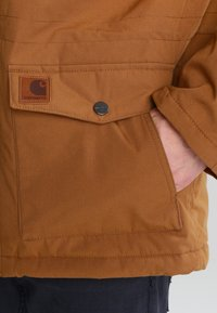 Carhartt WIP - TRAPPER  - Winterjas - hamilton brown/black - 5