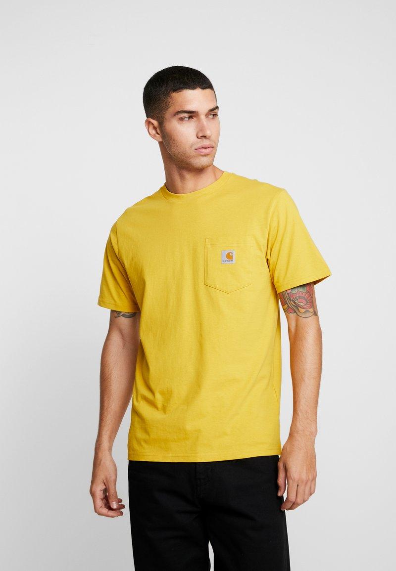 Carhartt WIP - POCKET - T-shirt basic - colza