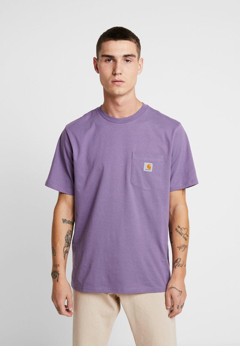 Carhartt WIP - POCKET - T-paita - soft lavender