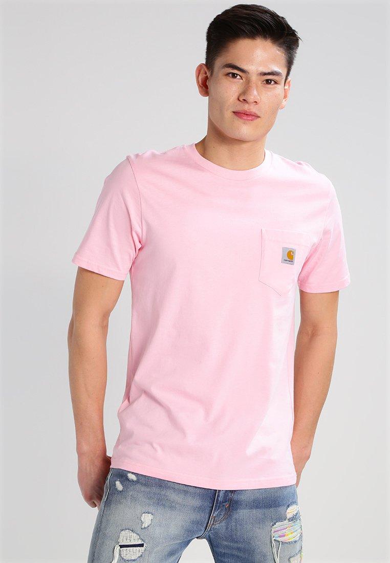 Carhartt WIP - POCKET - T-shirt basic - vegas pink