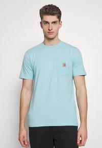 Carhartt WIP - POCKET - T-shirt basique - window - 0
