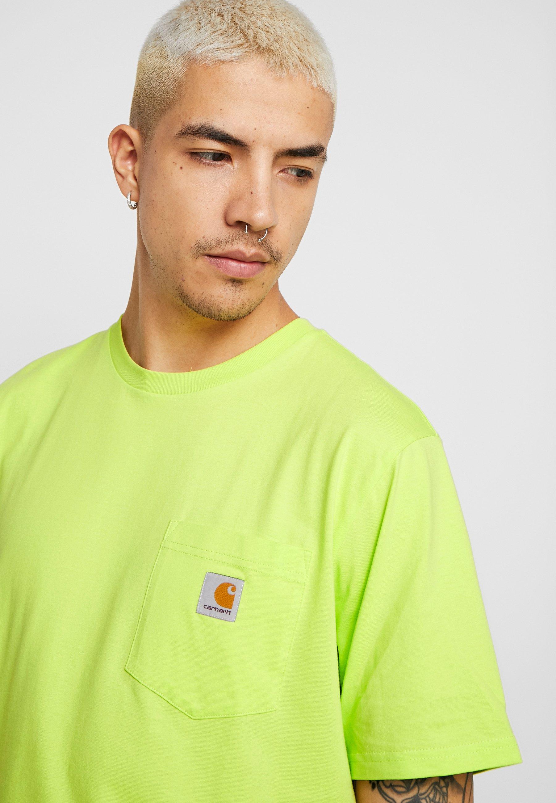 Carhartt WIP POCKET - T-shirt basique - lime