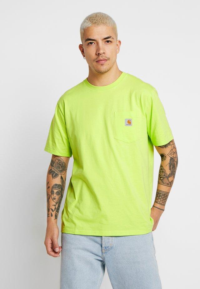 POCKET - T-shirts basic - lime