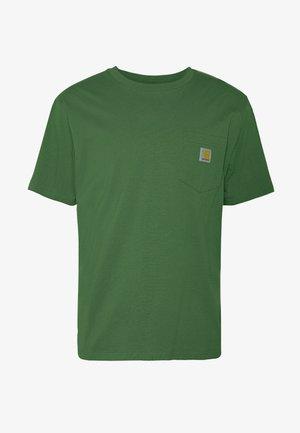 POCKET - T-shirt - bas - dollar green