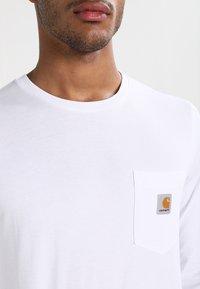 Carhartt WIP - POCKET  - Långärmad tröja - white - 3